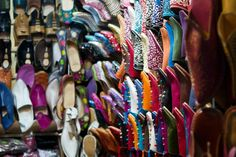 shoes in Marrakech