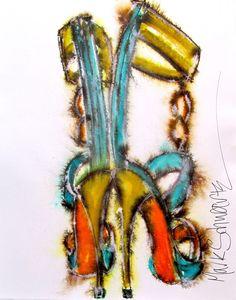 FASHION ALERT: STILETTO ART by Mark Schwartz   the MAGIC Marketplace