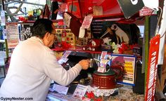 The Street Market in San Telmo, Buenos Aires, Argentina