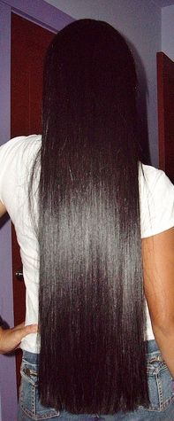 Jaslyn (After) - Dark Brown Indian Virgin Remy human hair clip-in extensions Ethnic Hairstyles, Curled Hairstyles, Pretty Hairstyles, Straight Hairstyles, Long Black Hair, Dark Hair, Beautiful Long Hair, Gorgeous Hair, Blond
