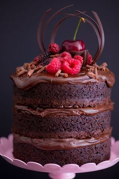 Mini Naked Cake de Nutella (Receitas - I COULD KILL FOR DESSERT)