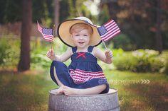 Colleen Christina Photography| Toddler| Patriotic| Photography| Minneapolis, MN