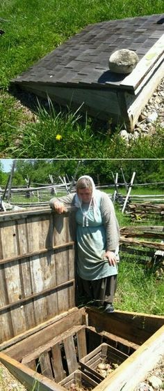 Another root cellar idea