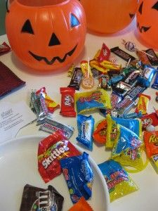 Experiments to perform with Halloween candy because we really don't need to eat all of it...