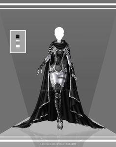 Com: Design outfit 6 by LaminaNati on @DeviantArt