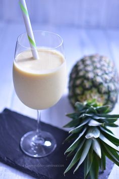 This Piña Colada Summer Smoothie is a healthy and delicious way to treat yourself.