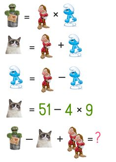 View more puzzles on fundoes to make ur brain sharp Number Puzzles, Maths Puzzles, Logic Problems, Teacher Humour, Math Talk, Bell Work, Math Challenge, Picture Puzzles, Math Notebooks