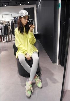 Korean Fashion Long Sleeve Slim Sweater T-Shirt