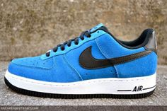 Nike Air Force 1 Low in Military Blue. Yup.