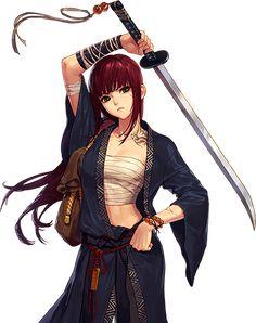 Baddass Hinata – – About Anime Manga Girl, Anime Art Girl, Anime Girls, Anime Ninja, Anime Naruto, Manga Anime, Manga Katana, Female Character Design, Character Art