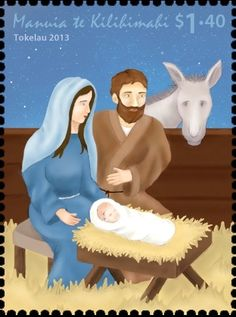 Stamp: Nativity (Tokelau) (Tokelau Christmas 2013) Mi:TK 442