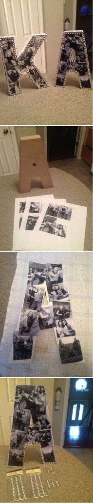 Teen girls just love photos. Here's another great way to display them.