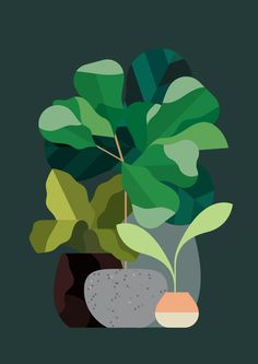 UK-based artist Rob Bailey creates gorgeous illustrations with a minimalist geometric style.  More illustrations Visit his website