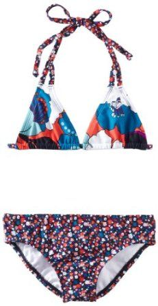 Roxy Kids Girls 7-16 Tiki Tri Fringe Rustic Sunshine Print Swimsuit Set --- http://www.pinterest.com.gp1.me/3ta