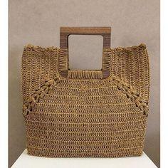 Best 12 Mar y Sol crochet bag – SkillOfKing. Crochet Handbags, Crochet Purses, My Bags, Purses And Bags, Net Bag, Macrame Bag, Unique Bags, Reusable Bags, Knitted Bags