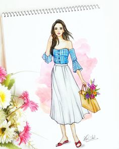 Image may contain: 1 person Source by geerthaece dresses drawing Dress Design Drawing, Dress Design Sketches, Fashion Design Sketchbook, Dress Drawing, Fashion Design Drawings, Art Sketchbook, Fashion Sketches, Dress Illustration, Fashion Illustration Dresses
