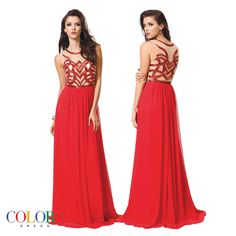 Fierce! COLORS DRESS Style 1142. #gown #prom #fabulous #chic #sexy #hair #evening #pageant