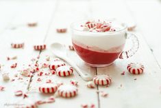 Peppermint Parfaits | two ways