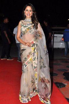 Actress Pragya Jaiswal at TSR Kakatiya Cultural Festival Photos (9)
