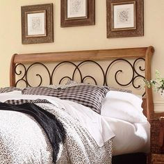 FBG Dunhill Metal Headboard | Wayfair // *LOVE*
