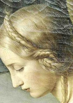 Friedrich Wilhelm Schadow, Parable of the Wise and the Foolish Virgins, detail, 1838-42