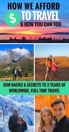 Top Destinations Where Budget Travelers Actually Go On Vacation A detailed reveal of the secrets & hacks to travelling full-time. If you dream of travelling long-term or even just more often, this is a MUST-read! Solo Travel, Us Travel, Family Travel, Places To Travel, Travel Destinations, Work And Travel, Time Travel, Travel Tourism, Vacation Places