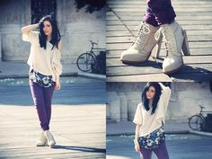 Wearing my Wang shoes (by CORALIE P.) http://lookbook.nu/look/3769119-Wearing-my-Wang-shoes