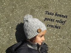 TUTO BONNET POINT DAMIER RELIEF AU CROCHET relief crochet hat GORRO RELIEVE TEJIDO CROCHET - YouTube Bonnet Crochet, Crochet Beret, Knitted Hats, Hats For Sale, Love Hat, Beanie Hats, Diy And Crafts, Winter Hats, The Incredibles