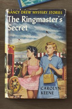 I love Nancy Drew books- I'm trying to add to my collection from the 50s & 60s.