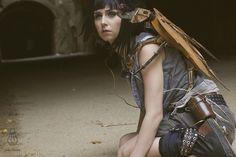 Welcome to the Apocalypse.  Model: Halo Haynes Photographer: Jake Howe Prop Beetle: Jake Howe