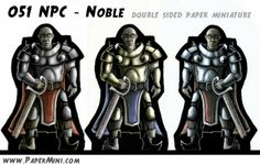 Download templates from my patreon website: www.PaperMini.com Jumping Jacks, Dungeons And Dragons, Miniatures, Templates, Website, Paper, Movie Posters, Stencils, Film Poster