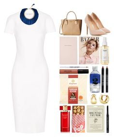 """""""4.417"""" by katrina-yeow ❤ liked on Polyvore featuring Victoria Beckham, Dorothy Perkins, Calvin Klein, Kate Spade, Ouai, Lord & Berry, BERRICLE, Estée Lauder, Forever 21 and Christian Dior"""