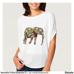 Beautiful Tribal Elephant T-Shirt
