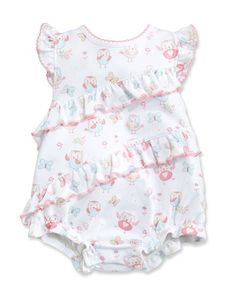 Floral One Piece Swimsuit Pink Size 3 24 Months Neiman Marcus
