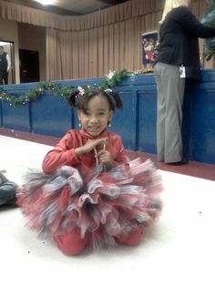 Make your princess stand out at her Christmas ceremony by ordering her customized tutu today! By: Danika Vaughn