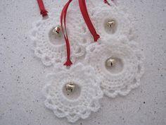 CHALKY'S WORLD: A quick and pretty crochet ornament.~k8~