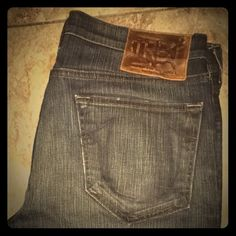NEW True Religion men's jeans. Men's size 34 True Religion jeans. Brand new without tags. Bootcut fit, never worn, perfect condition! True Religion Jeans Boot Cut