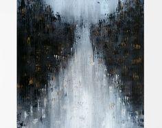 Pintura al óleo luces en la noche Obra de por AfremovArtStudio