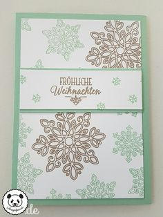 Stampin Up, SU, Stempelpanda, Weihnachten, Christmas, Flockenzauber, Flurry of Wishes