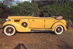 1935 Auburn 851 4-dr Convertible Phaeton for sale   Hemmings Motor News