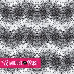 """PATTERN: """"Boa"""" ©2017, Stardust and Rust Gallery * A variation of yesterday's """"CobbWebs"""" pattern, Boa is a black/grey tonal chevron design suitable for pencil skirts, swimerar, or activewear. Many of our designs are in vector format and can be altered to change up pattern or color schemes. Just DM us for details on any of our patterns. * #stardustandrustgallery #stardustandrust #stardust #textiledesign #surfacedesign #prints #activewear #swimwear #patterndesign Retail Trends, Vector Format, Pencil Skirts, Surface Design, Textile Design, Activewear, Rust, Color Schemes, Pattern Design"""