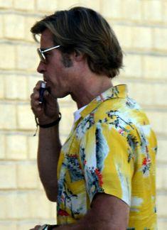 Brad Pitt Haarschnitt, Brad Pitt Style, Bradd Pitt, Brad Pitt Haircut, Rat Man, Handsome Actors, Quentin Tarantino, Dream Team, Pulp Fiction