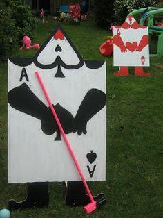 Alice in Wonderland Party Ideas: Croquet