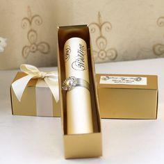 HI2052 Royal Golden Scroll Wedding Invitation with Rhinestone Brooch on Aliexpress.com | Alibaba Group