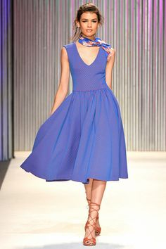 Gorgeous shade of purple! Tracy Reese Spring 2014 Ready-to-Wear Collection Slideshow on Style.com