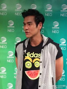 'Now is good'  Eddie with Adidas Neo Lable Event at Cheng du 19.7.15