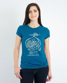 REEL-Y? Overfishing Threatens Our Oceans Women's Tee | My Voice Clothing