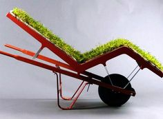 Grass stains have never been so comfortable! Or portable