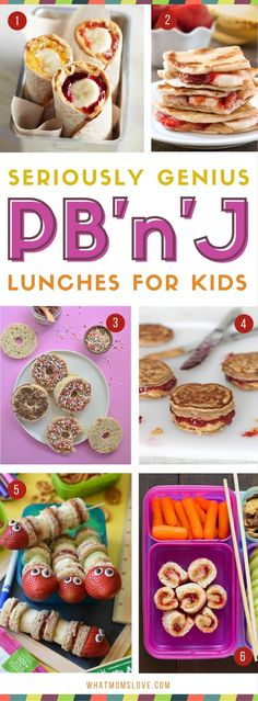 23 Genius Twists On The Peanut Butter & Jelly Sandwich - what moms love