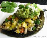Chicken & Black Bean Stuffed Pasilla Peppers Recipe
